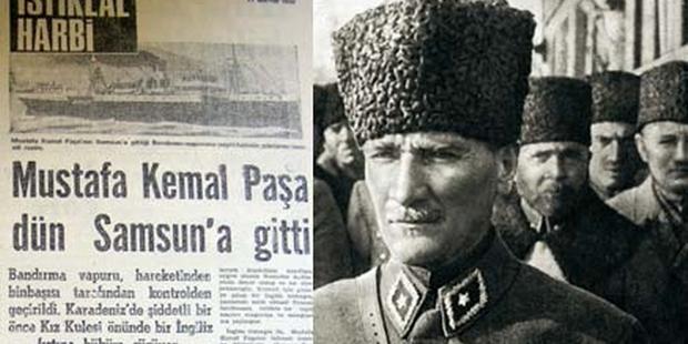 19 Mayıs 1919'da Başlayan Milli Mücadele Günlerinden Anılar ve Mustafa Kemal Atatürk
