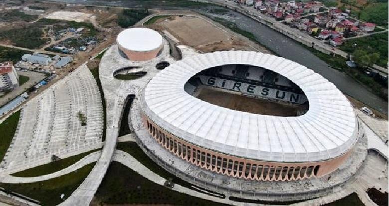 Giresun Çotanak Spor Kompleksi'nde sona gelindi! Muhteşem...