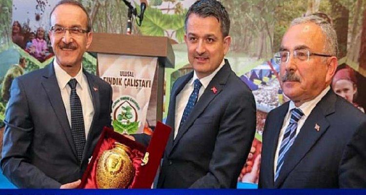 GTB fındıktaki sorun ve çözüm önerilerini Bakan Pakdemirli'ye aktardı