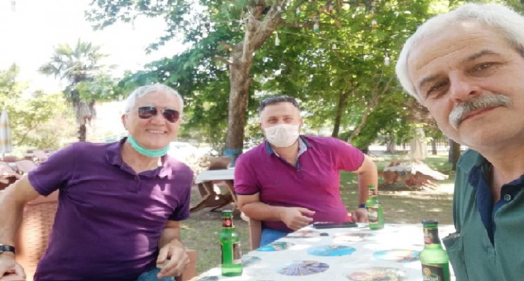 İYİ Parti Beykoz Eski Belediye Başkan Adayı Bilgehan Murat Miniç ve Rahman Emanet Görele'de