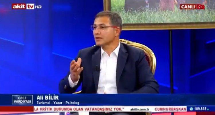 Ali Bilir Akit Tv'de Geçmişten Günümüze Görele Kitabını Anlattı...